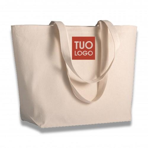 Ceneri: sacchetto cotone esterno cm 50 x 38 x 15 biodegradabile