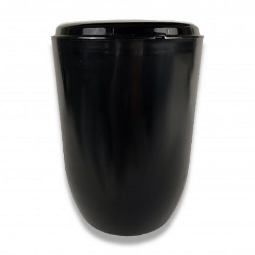 Ceneri urna tecnopolimero black Ø cm 19 x 24 h (solo con cod. 1971)