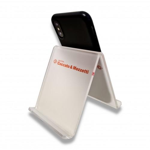 Gadget: cellulare/tablet supporto aziendale da tavolo