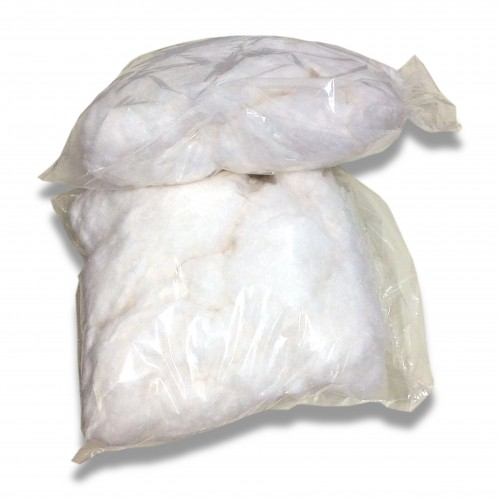 Ovatta: sfrido cardato in sacco pe saldato