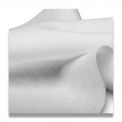 Tessuto mimosa cotone bianco ottico cm 160 biodegradabile