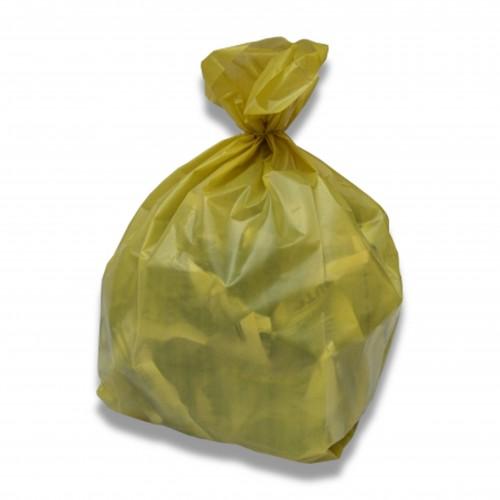 Sacco pe cm 70 x 110 6/100 giallo pesante