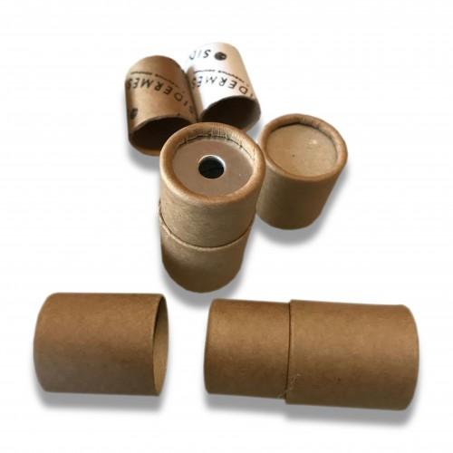 Gadget: posacenere portatile cellulosa avana/bianca biodegradabile